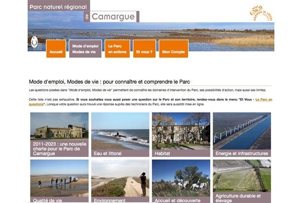 Un nouveau site internet participatif pour le territoire for Idee site internet