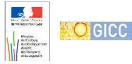 logo GICC et ministère MEDDTL